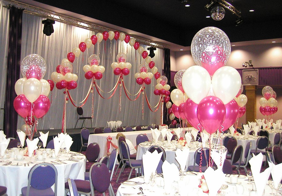 Wedding balloons - Balloon Wise